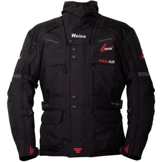 Weise Dakar Motorcycle Jacket Black