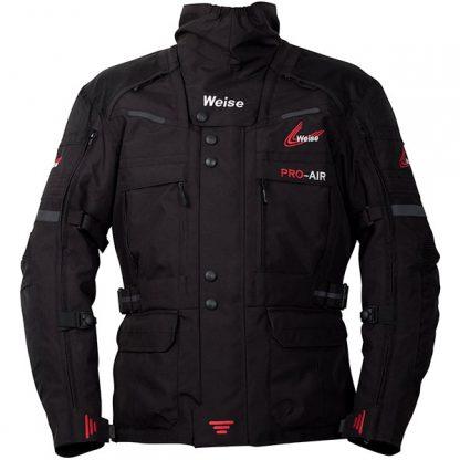 Weise Dakar Motorcycle Jacket Black