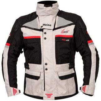 Weise Dakar Motorcycle Jacket Stone