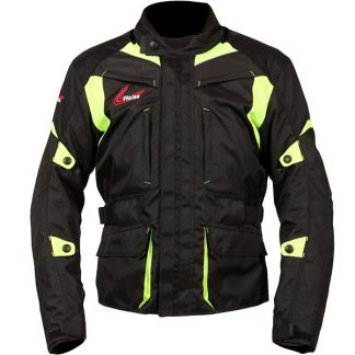 Weise Pioneer Motorcycle Jacket Yellow