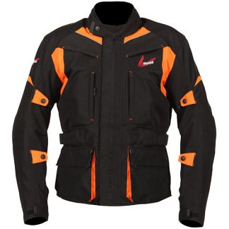 Weise Pioneer Motorcycle Jacket Orange