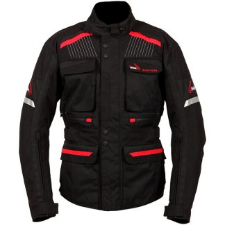 Weise W-Tex Touring Motorcycle Jacket Black