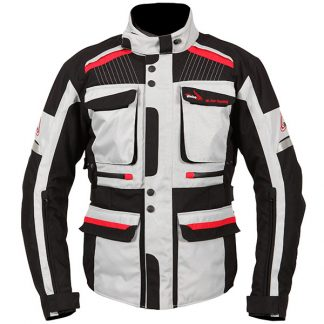 Weise W-Tex Touring Motorcycle Jacket Stone