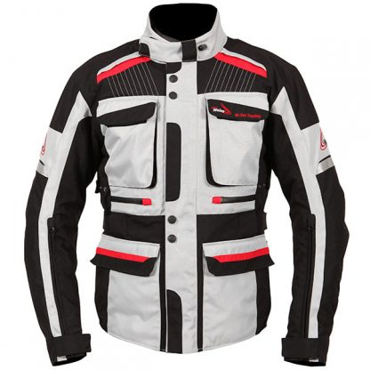 Weise W-Tex Touring Motorcycle Jacket Stone