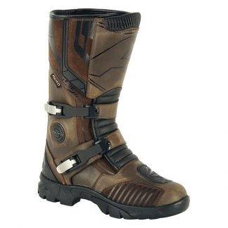 Akito Latitude Motorcycle Boots Brown