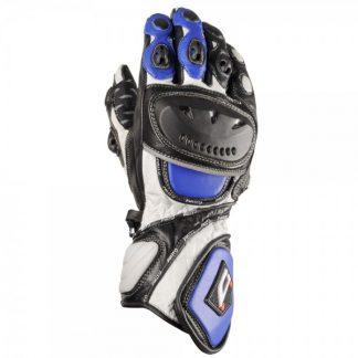 Akito Sport Max Motorcycle Gloves Blue