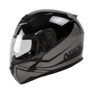 Nitro N2400 Rogue Motorcycle Helmet Black