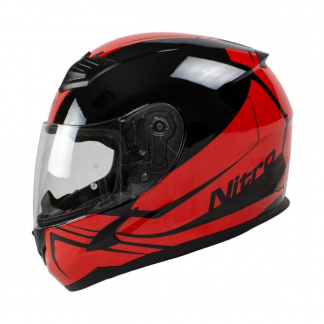 Nitro N2400 Rogue Motorcycle Helmet Red