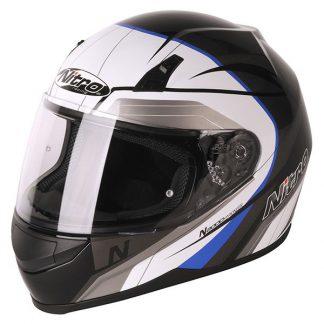 Nitro N2000 Pioneer Motorcycle Helmet Blue