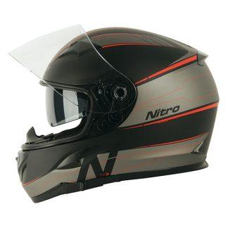 Nitro N2300 Axiom Motorcycle Helmet Red