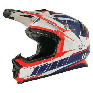Nitro NRS MX Lithium Motocross Helmet Matt Orange