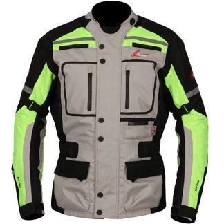 Weise Stuttgart Motorcycle Jacket Neon