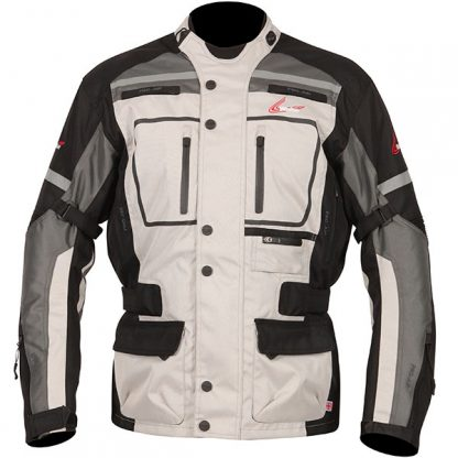 Weise Stuttgart Motorcycle Jacket Stone