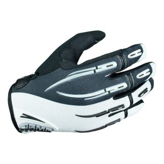 Armr Moto Kids KGMX3 Motocross Gloves White