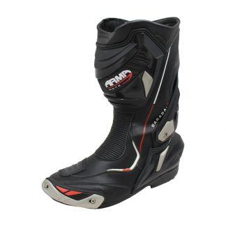 Armr Moto Harada R Motorcycle Boots Black
