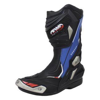 Armr Moto Harada R Motorcycle Boots Blue