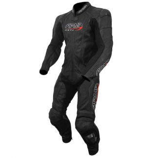Armr Moto Harada S Leather Motorcycle Suit Black