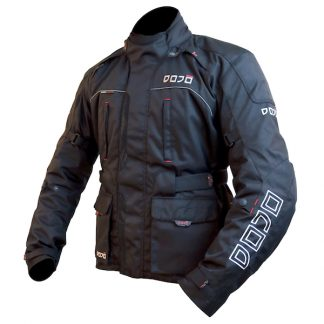 Dojo Maru Motorcycle Jacket Black