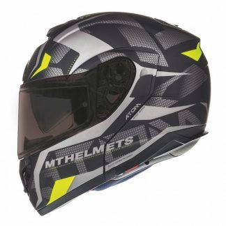 MT Atom SV Divergence Motorcycle Helmet Matt Grey