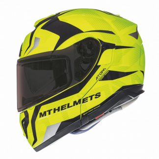 MT Atom SV Divergence Motorcycle Helmet Yellow