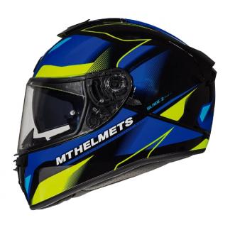 MT Blade 2 SV Fugue Motorcycle Helmet Blue