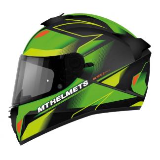 MT Blade 2 SV Fugue Motorcycle Helmet Green