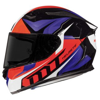 MT KRE SV Lookout Motorcycle Helmet Red