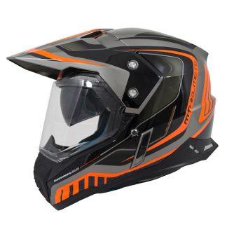 MT Synchrony Tourer Dual Sport Helmet Orange