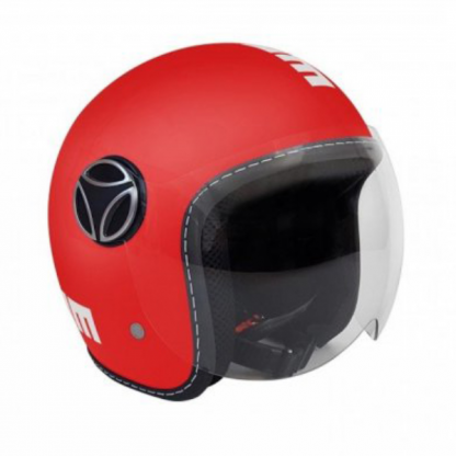Momo Fighter Baby Motorcycle Helmet Matt Red