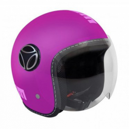 Momo Fighter Baby Motorcycle Helmet Matt Violet