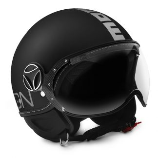 Momo Fighter Classic Motorcycle Helmet Matt Black