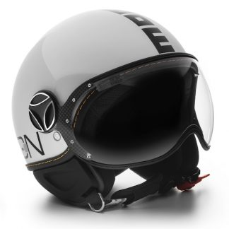 Momo Fighter Evo Motorcycle Helmet Gloss White