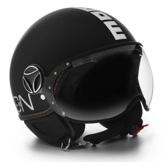 Momo Fighter Evo Motorcycle Helmet Matt Black