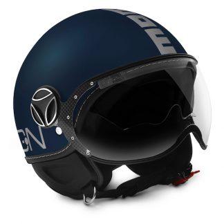 Momo Fighter Evo Motorcycle Helmet Matt Blue