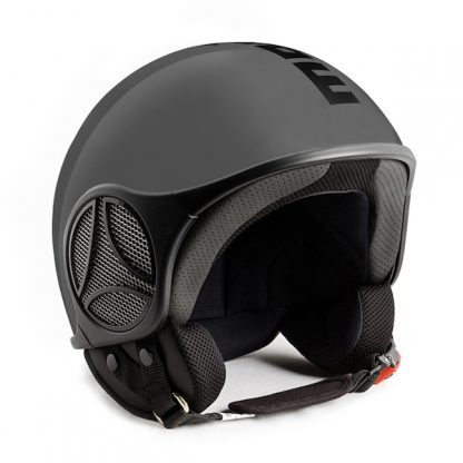 Momo Minimomo S Motorcycle Helmet Matt Aluminium