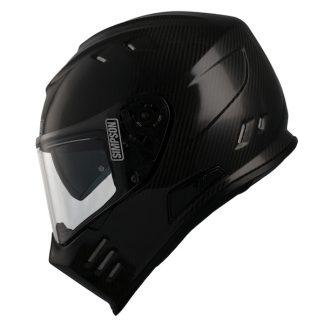 Simpson Venom Carbon Fibre Motorcycle Helmet