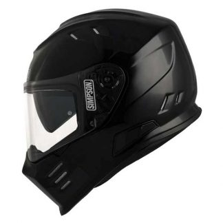 Simpson Venom Motorcycle Helmet Gloss Black