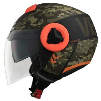 Vemar Breeze Camo Motorcycle Helmet Matt Khaki