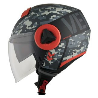 Vemar Breeze Camo Motorcycle Helmet Matt Grey