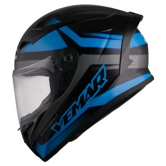 Vemar Ghibli Base Motorcycle Helmet Blue
