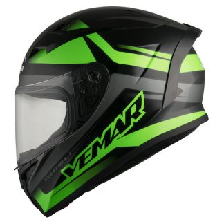 Vemar Ghibli Base Motorcycle Helmet Green