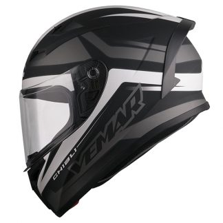 Vemar Ghibli Base Motorcycle Helmet Matt Black