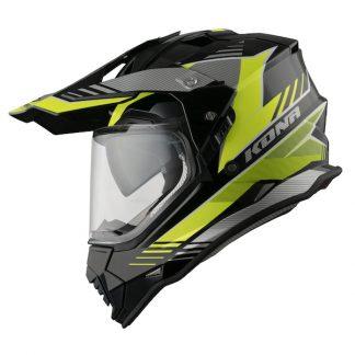 Vemar Kona Explorer Dual Sport Helmet Yellow