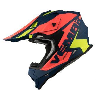 Vemar Taku Blade Motocross Helmet Matt Navy