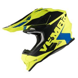 Vemar Taku Blade Motocross Helmet Matt Yellow