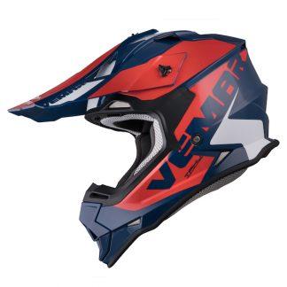 Vemar Taku Blade Motocross Helmet Navy