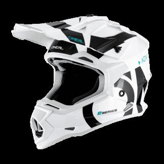 Oneal 2 Series RL Slick Motocross Helmet White