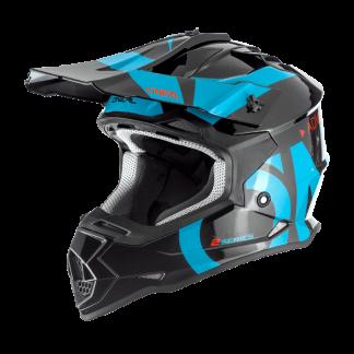 Oneal 2 Series RL Slick Motocross Helmet Blue