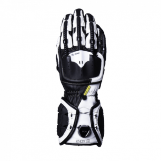 Knox Handroid MK4 Motorcycle Gloves White
