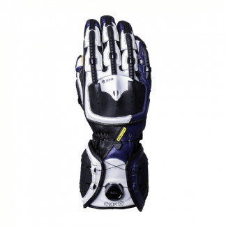 Knox Handroid MK4 Motorcycle Gloves Blue